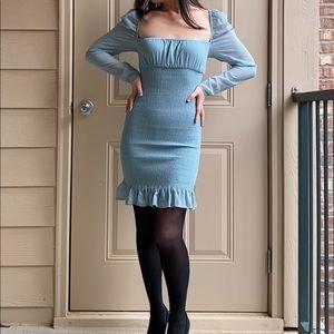 Aritzia Wilfred Ballad Dress in Sage Stone XS